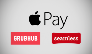 You can now use Apple Pay to pay for Seamless and Grubhub deliveries