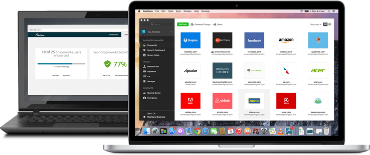 Dashlane launches a password management tool for the enterprise