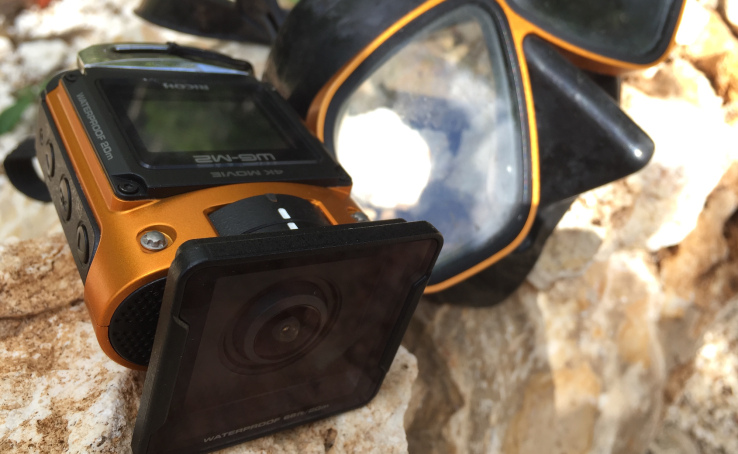 Hands-on with Ricoh's new waterproof action cam, WG-M2
