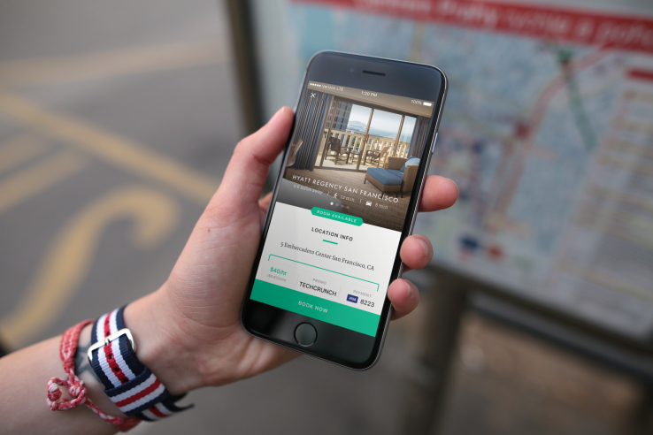Recharge, used to book hotel rooms by the minute, raises $2.3 million