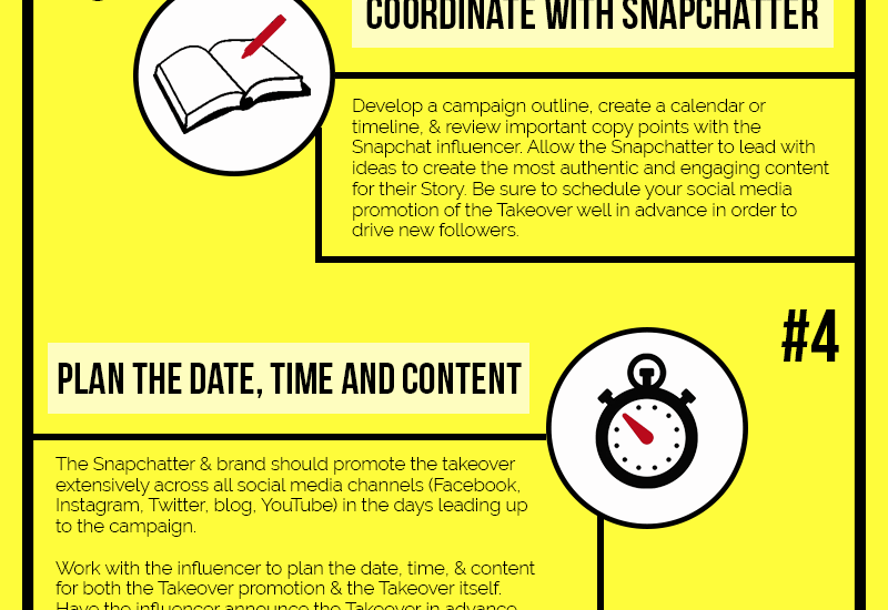 How to launch an effective Snapchat campaign [Infographic]