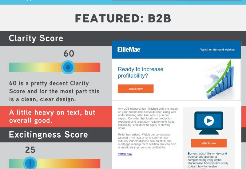 What marketing email heat maps can teach us about creating eye catching emails [Infographic]