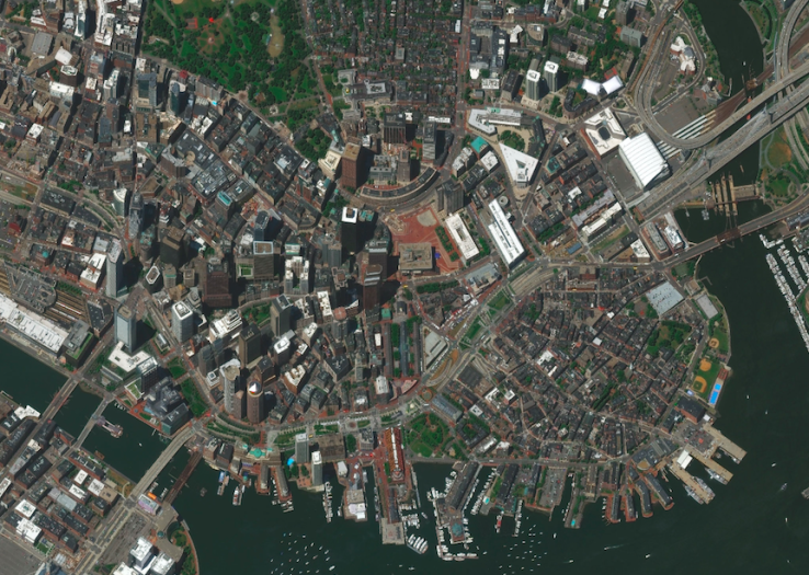 SpaceNet satellite imagery repository launched by DigitalGlobe, CosmiQ Works and NVIDIA on AWS
