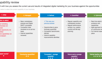 Auditing digital marketing for a business