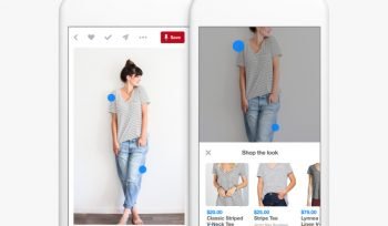 Pinterest users can now jump to other products within an image