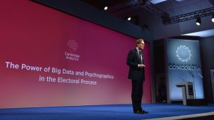 A current Facebook employee once worked for the company that harvested data for Cambridge Analytica
