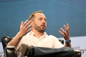 Dropbox CEO Drew Houston emphasizes user trust on IPO day amid Facebook's troubles